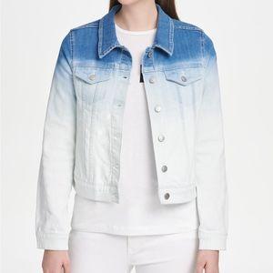 DKNY Ombre Denim Jacket